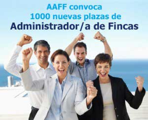 Trabajar como administrador de fincas AAFF